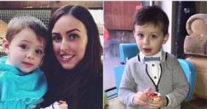 Madre de un niño con autismo