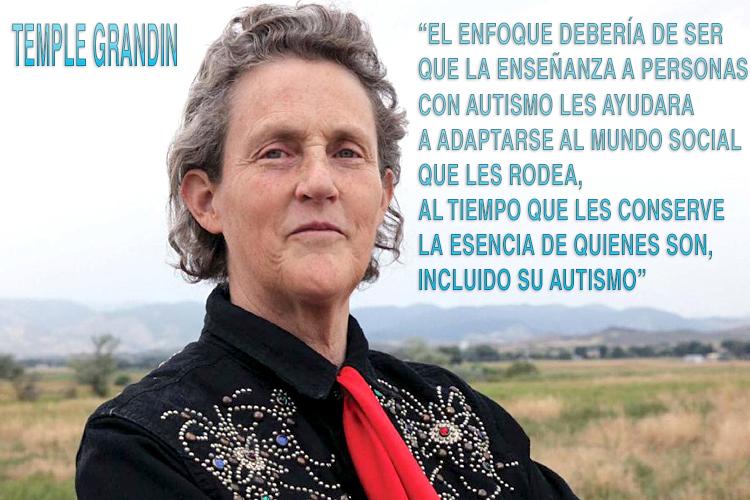 Temple Granding personalidad con Autismo